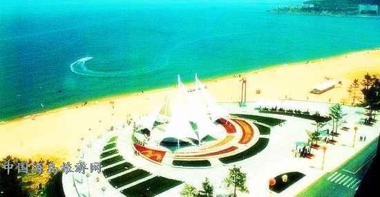 俄罗斯旅行社钟情威海浴场沙滩[中国海岛旅游网]