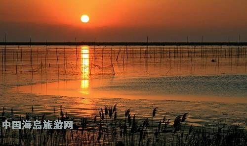 上海最大的人工湖——崇明北湖