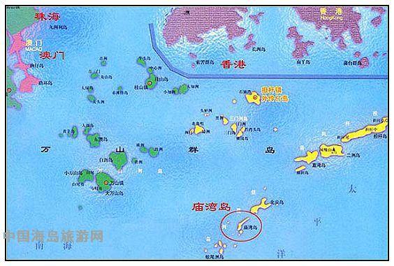 庙湾岛地图[中国海岛旅游网]