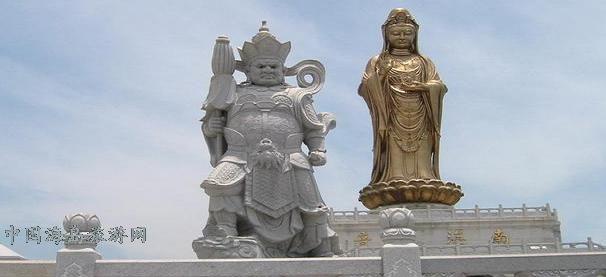 1997年农历九月廿九,南海观音露天铜像建成.
