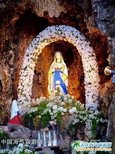 塞班岛旅游景点---圣母庙
