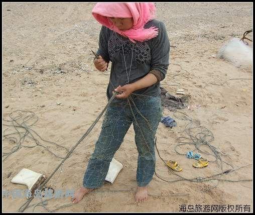凤鸣岛渔家女谈捕鱼